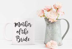 Mother of the Bride Funny Coffee Mug. Funny Mug. Bridal Mug. Bridal Gift. Mother of the Bride. Wedding. Bridal Party.