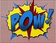 Pop Art Art - Pop POW by Suzanne Barber