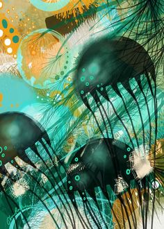 Lost Depth New Media by Cherie Roe Dirksen | Saatchi Art New Africa, Abstract Styles, New Media, Fine Art Paper, Saatchi Art, Lost, Art Prints, Canvas, Illustration