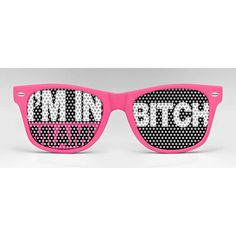 I'm In Miami B**** Glasses  by Eyepster . . .makes we wish I were there lol