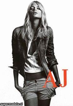 Julia Stegner Armani Jeans