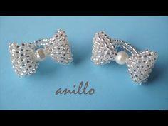 DIY - Como hacer un anillo lacito tutorial DIY - How to make a loop ring - YouTube