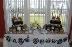 Noah's Ark Baby Shower Party Ideas | Photo 1 of 28