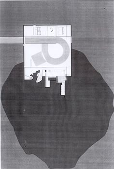 Maison à Bordeaux by Rem Koolhaas. Image © courtesy of OMA. Rem Koolhaas, Architecture Visualization, Architecture Plan, Contemporary Architecture, Site Plans, Famous Architects, Ideal Tools, Simple House, Old Things