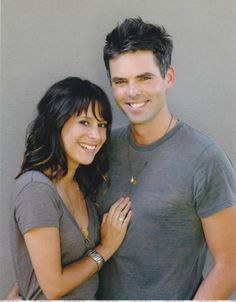 Robin and Patrick...(Kimberly McCullough) and (Jason Thompson) from General Hospital
