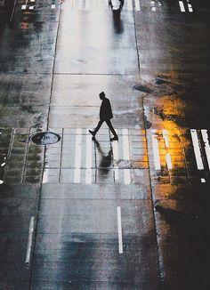 As he walks alone x Bronson Snelling.