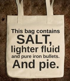 A tote bag for hunters.