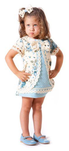 Vestidoo de niña paraisobebe.com ropa, bebé, verano, primavera, infantil, niña, moda