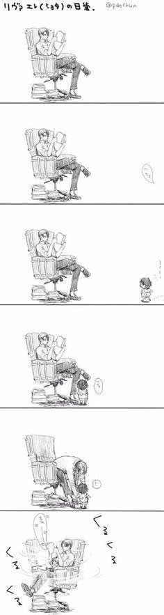 Levi x Eren kid