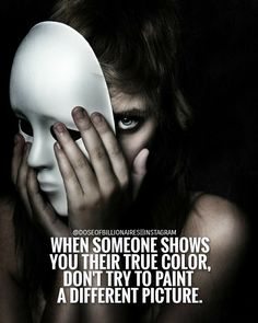 True Colors Bleed through a mask