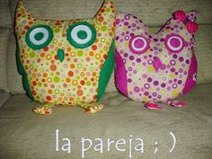 Owl Plushie Tutorial with Downloadable Pattern