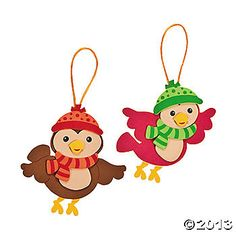 Winter Birds Ornament Craft Kit