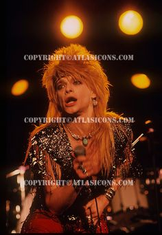 MICHAEL MONROE, LIVE, 1987, NEIL ZLOZOWER