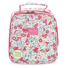 Joules Junior Ditsy Cream Munch Bag