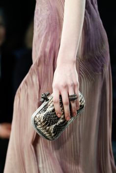 Details at Bottega Veneta Fall 2014 RTW