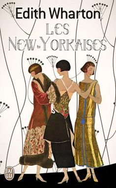 Art Deco, Cover for Edith Wharton's Book, 'Les New-Yorkaise's  ::1920's::