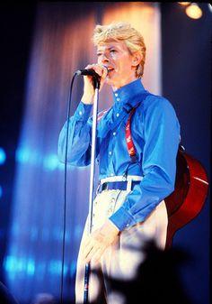 David Bowie - Serious Moonlight Tour