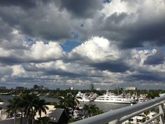 This is actually a photo John took in Fort Lauderdale from the Southeast 17th Causeway. The adjacent neighborhood, Harbor Beach, is one of South Florida's best places to live.