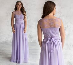 Floral Lace Dress, Floral Chiffon, Dark Green Long Dress, Gown Photos, Party Gowns, Special Occasion Dresses, Dress Making, Bridesmaid Dresses, Lavender