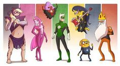 And Susan Strong! Lol Adventure Time