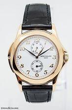 Patek Philippe 5134J Calatrava Travel Time 18kt Yellow Gold Mens Watch B&P