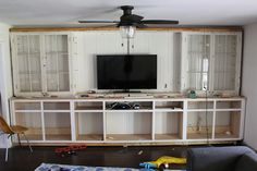 DIY Built Ins Series - How to Build Your Own Base Cabinets - Dream Book Design