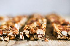 Attention on-the-go girls: Breakfast just got more simple with these 8 healthy granola bar recipes. Avoid excess sugar and empty calories with these homemade granola bars where you control the ingredients.