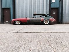 Jaguar E-Type on a custom chassis soon to be powered by a 20B three-rotor
