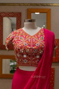 Bridal Lehenga Choli, Lehenga Saree, Silk Sarees, Sari, Saree Look, Embroidered Clothes, Wardrobes, Hand Weaving, Gowns