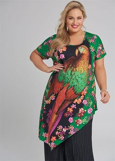 8b6c831f13 Free As A Bird Tunic - Shop Plus Sizes | Taking Shape Taking Shape, 24