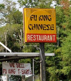 Fu King restaurant. - hauskat kuvat - Naurunappula