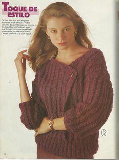 Mania-de-Tricotar: Blusas de tricô