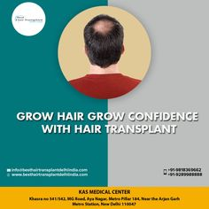 If you're looking for a permanent solution to your hair loss, you may want to consider a hair transplant.The outcome still depends largely on the surgeon you select. You want to choose a doctor who understands hair loss and performs hair transplants regularly. Web: www.besthairtransplantdelhiindia.com Book video call consultation please call/whatsapp: +91-9289988888 #hairtransplant #hairtransplantsurgeon #eyebrow #eyelash #beard #moustaches #cosmeticsurgery #drkashyap #delhi #india Eyelashes, Eyebrows, Hair Transplant Surgery, Moustaches, Delhi India, Medical Center, Grow Hair, Hair Loss, Your Hair