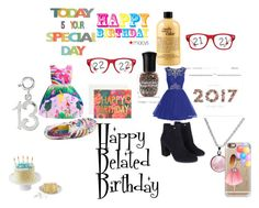 """Happy Belated Birthday"" by jasmineedrington on Polyvore featuring interior, interiors, interior design, home, home decor, interior decorating, My Little Pony, Rifle Paper Co, philosophy and Puck Wanderlust"