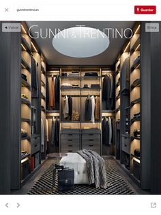 Rogers Closet Luxury Modern Walk In Closet By Poliform