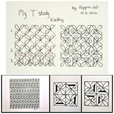 348 Best zentangle & Pattern instructions images in 2018