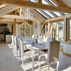 Dining room | Rustic new-build house | Country Homes  Interiors house tour | PHOTO GALLERY | housetohome