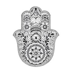 PLEASE NOTE: Shipping for all of our temporary tattoos is a flat rate of $1 in Australia and $3 for the rest of the world. If you only order tattoos you will be refunded for any overpaid shipping fees via PayPal. This stunning large Hamsa temporary tattoo is 8cm wide and 11cm tall. The Hamsa symbol has been used in many cultures for thousands of years. It is talismanic symbol that is believed would protect from harm against evil forces and bring goodness, abundance, fertility, luck and good…