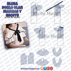 How to use a French Curve Easy Sewing Patterns, Sewing Tutorials, Sewing Hacks, Blouse Patterns, Clothing Patterns, Fashion Sewing, Diy Fashion, Bodice Pattern, Sewing Blouses