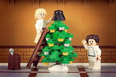 Merry Sithmas: Lego Star Wars Christmas Mash-Ups Lego Christmas, Star Wars Christmas, Christmas Tree, Christmas Stuff, Family Christmas, Christmas Crafts, Christmas Ideas, Legos, Lego Lego