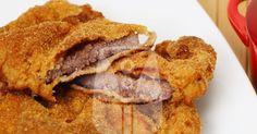Bife a milanesa na Air Fryer
