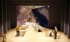 Master Builder at Yale Rep, scenic design by Tim Brown