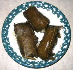 How To Make Stuffed Grape Leaves w Rice & Meat