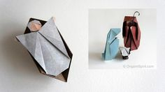 How to Make an Origami Nativity Scene: The Child –Part 3 of 3 Layla Torres, Origami Spirit