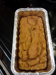 Bariatric Foodie: Kyle's Pumpkin Protein Bread for Thomas