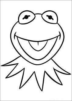 Desenhos para pintar Muppets 1