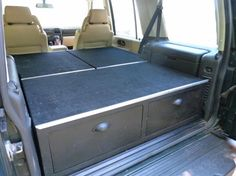 Home made drawer system added to my 03' Disco 2 - Land Rover Forums - Land Rover Enthusiast Forum