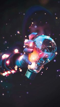 Wallpaper Iphone - Bulb in space. Is it human or robot? - Wildas Wallpaper World