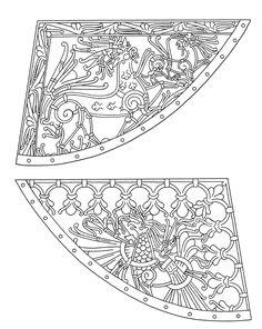 Photos from Swedish Museum Vikings exhibit Viking Symbols, Viking Art, Viking Runes, Viking Woman, Viking Designs, Celtic Designs, Celtic Tattoos, Viking Tattoos, Medieval Art