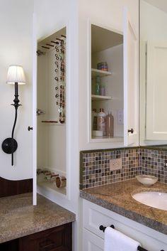 Medicine Cabinet and Jewelry Storage traditional bathroom